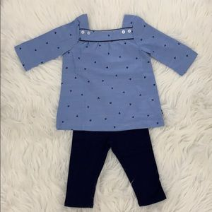 Náutica baby Girl 2-piece set Blouse and leggins